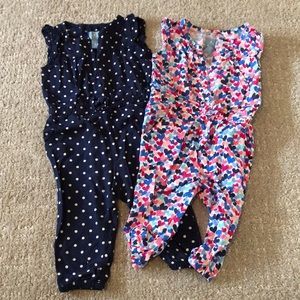 Excellent shape! (2) Baby Gap One piece outfits!